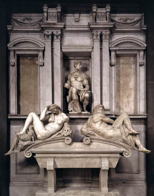 Medici Tomb by Michelangelo